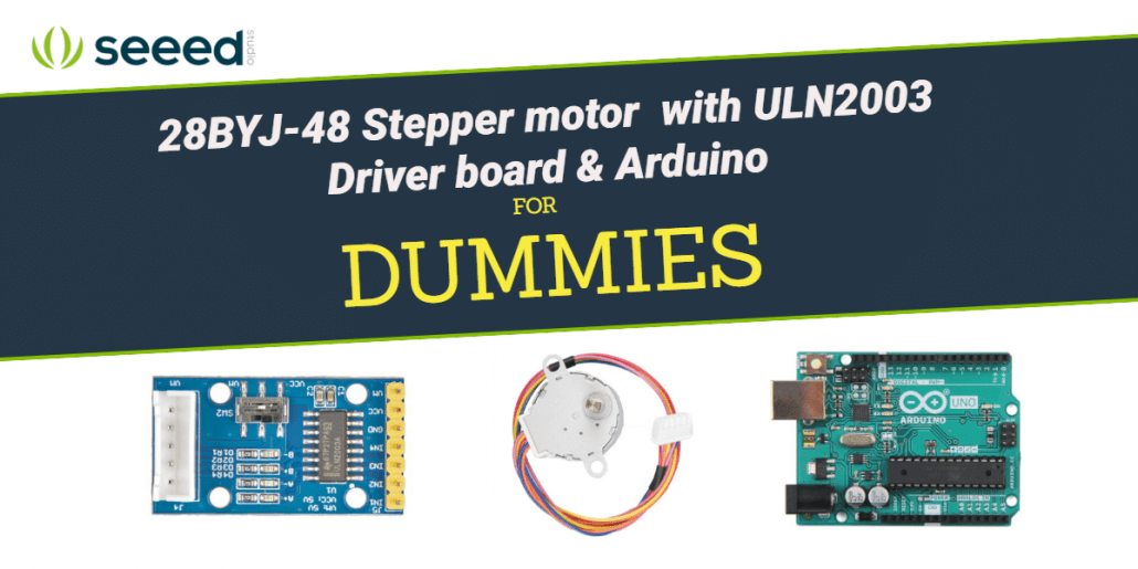 Dummies guide on driving a 28BYJ-48 Stepper Motor with a