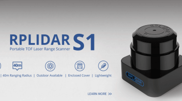 Introducing RPLIDAR S1 – Portable TOF 360 Degree Laser Range Scanner