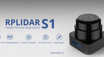 Introducing RPLIDAR S1 – Portable TOF 360 Degree Laser Range Scanner