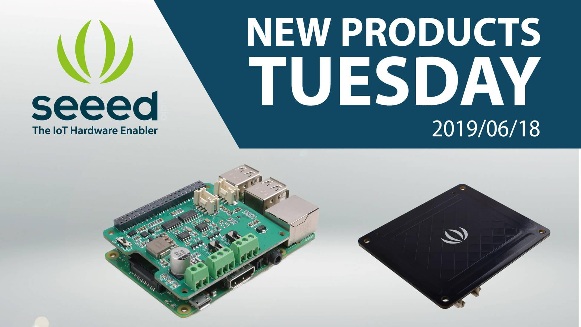 All-New Raspberry Pi Shields on #newproductsTuesday | Seeed