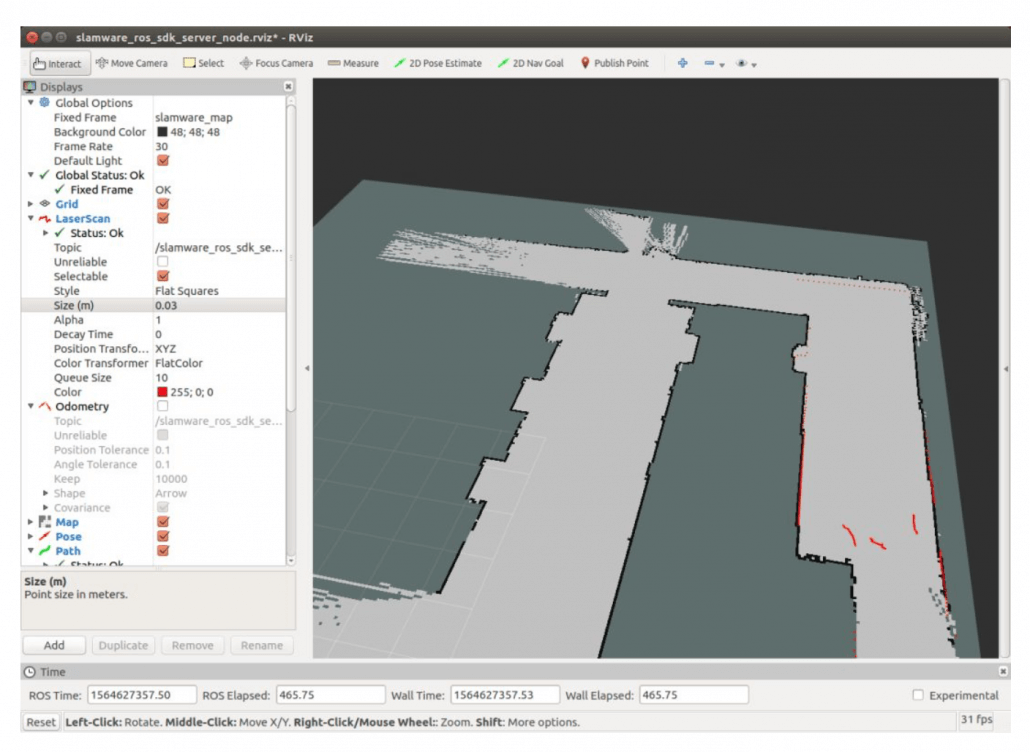 How to Use SLAMWARE ROS SDK for Robot Navigation Positioning