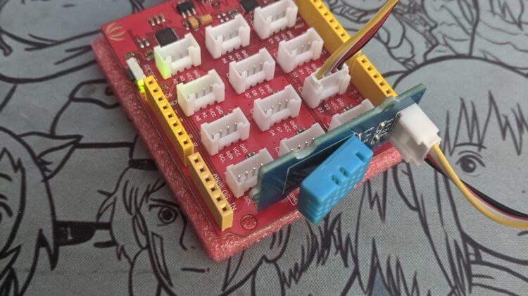 iot sensor project