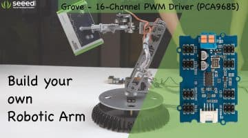 How to use Grove – 16-Channel PWM Driver (PCA9685) to