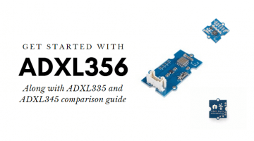 ADXL356: Getting started, ADXL335 vs ADXL345