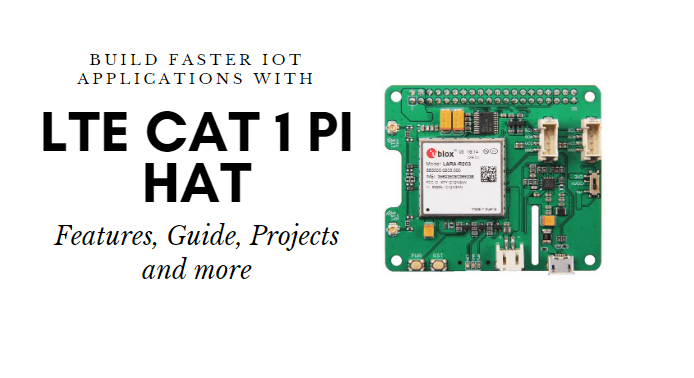 LTE Cat 1 Pi HAT