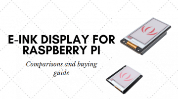 E-ink display for Raspberry Pi