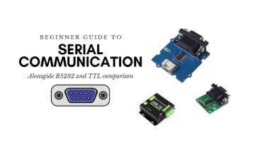 serial communication guide RS232 vs TTL