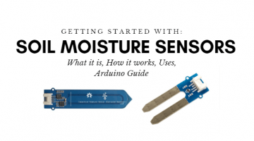 what is soil motion sensor and simple arduino tutorial to get started