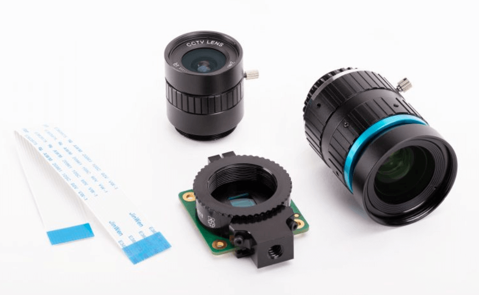 New Raspberry Pi High-Quality Camera Module and Mount Lens just launched
