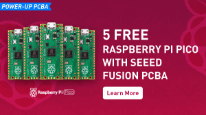 5 free Pico with Seeed Fusion PCBA