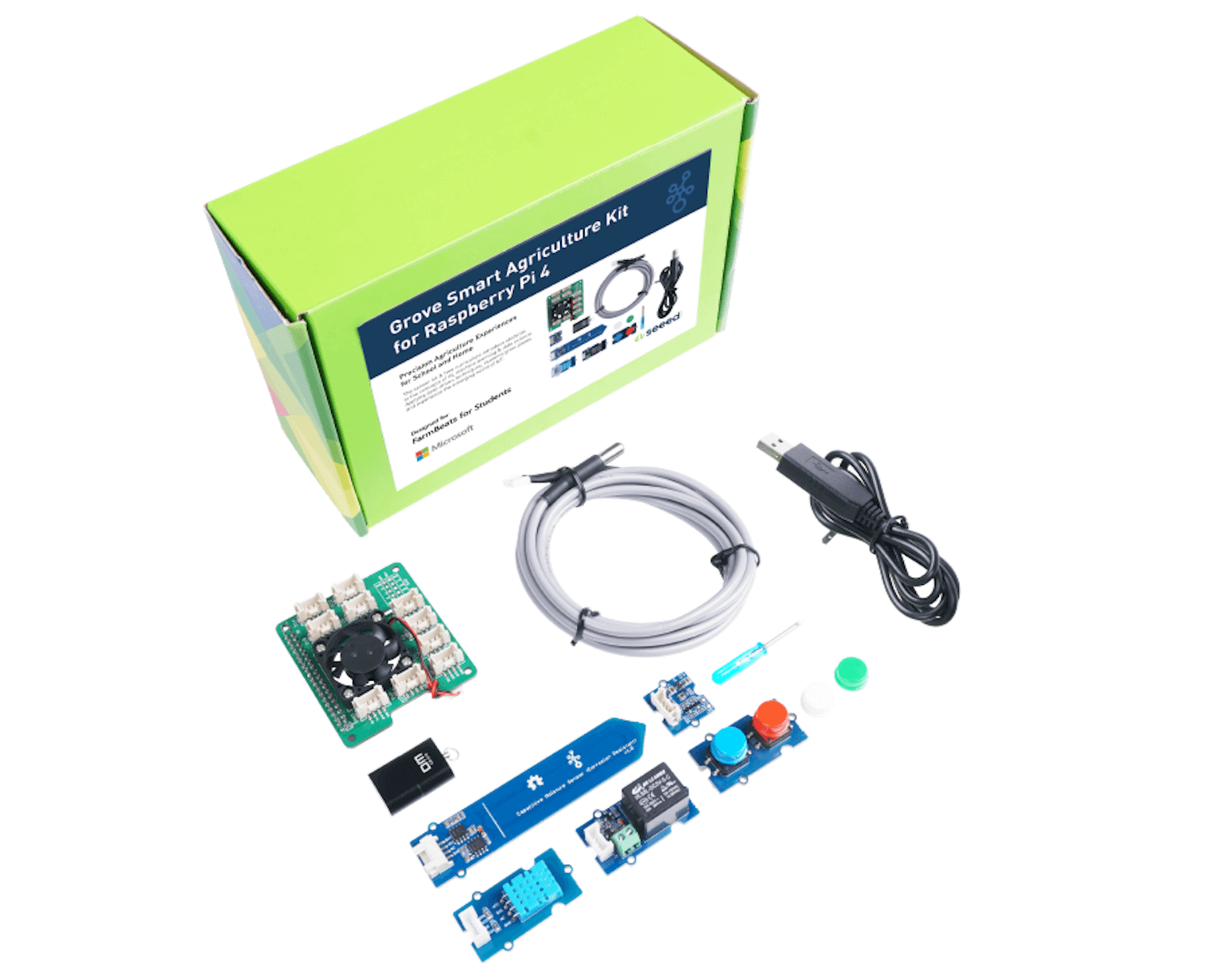 Microsoft FarmBeats for Students Kit, Smart Agriculture Experience for School & Home